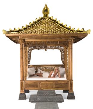 Luxury Gazebo Aus Massivem Teakholz Teak Temple